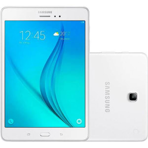 "Tablet Samsung Galaxy Tab A com S Pen P355M 16GB Wi-Fi 4G Tela 8"" Android 5.0 Quad-Core - Branco"