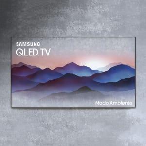 "Smart TV QLED 49"" Samsung Q6FN Ultra HD 4K Modo Ambiente, Tela de Pontos Quânticos, Controle Remoto Único"