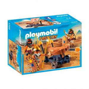 Playmobil Soldados Do Faraó Com Catapulta - Sunny