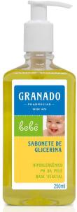 [2 Unidades] de Sabonete Líquido Glicerinado Bebê 250ml cada - Granado