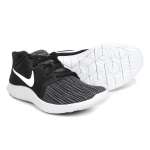 Tênis Nike Flex Contact 2 Masculino - Branco e Preto