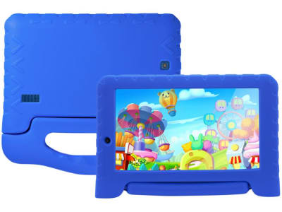 "Tablet Multilaser Kid Pad Plus 8GB 7"" Wi-Fi - Android 7.0 Proc Quad Core Câmera Integrada"