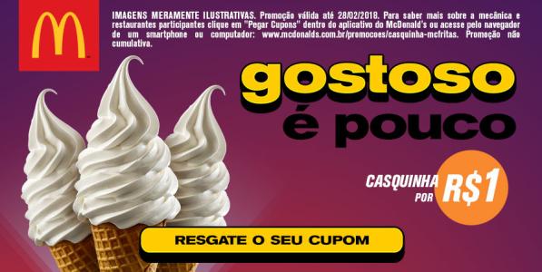 Cupom Mc Donalds Casquinha