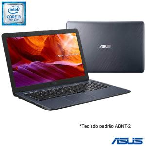 Confira ➤ Notebook Asus VivoBook Intel Core i3 7020U 4GB 256GB SSD Tela de 15,6 Cinza Escuro – X543UA-GQ3430T ❤️ Preço em Promoção ou Cupom Promocional de Desconto da Oferta Pode Expirar No Site Oficial ⭐ Comprar Barato é Aqui!