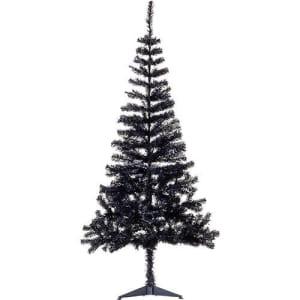 Árvore de Natal Tradicional Preta 1,8m - Christmas Traditions