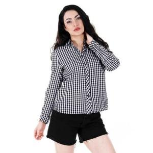 Camisa Casual Feminina Facinelli