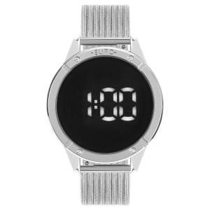 Relógio Euro Glam Feminino Prata Analógico EUBJ3912AD/4F