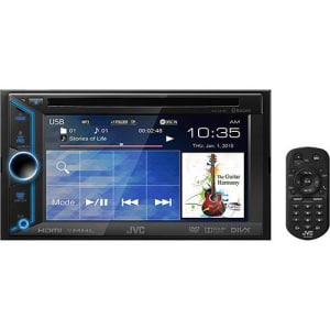 "DVD Player Automotivo JVC Kw-v31bt Tela 6,1"" HDMI/USB"