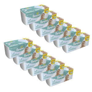 Kit de Lenços Umedecidos Pampers Fresh Clean - 1152 Unidades