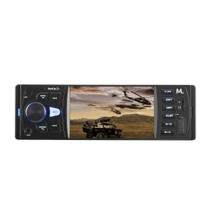 Som Automotivo Multilaser Rock 4 P3325 Micro SD, USB, P2, Bluetooth e MP3