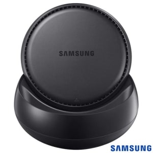Base DeX Station Samsung para Conexão do Galaxy S8 e S8 Plus com PC Preto - EE-MG950BBPGBR - SGEEMG950BPTO_PRD
