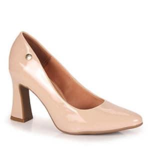 Sapato Salto Feminino Vizzano Nude