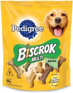 2 unidades -  Biscoito Pedigree Biscrok Para Cães Adultos Multi 500 g