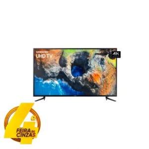 """Smart Tv Led 58"""" Samsung HDR Premium e 4K, Smart View, 20W, Quad Core, Entradas 2 USB e 3 HDMI - UN58MU6120GXZD"""