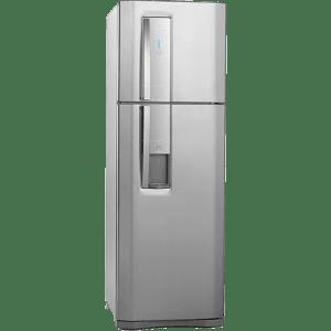 Oferta ➤ Refrigerador Electrolux Duplex Frost Free Inox 380L Inox – DW42X   . Veja essa promoção