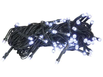 Pisca Pisca Bolinha 100 LEDs 2,5m Branco Frio - NATAL198 Casambiente