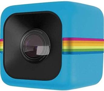 Câmera de ação Full HD Cube Polaroid Azul