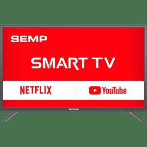 "Smart TV LED 39"" Semp TCL L39S3900FS Full HD com Conversor Digital 2 HDMI 1 USB Wi-Fi Closed Caption - Grafite"