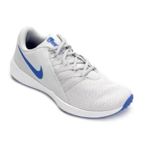 Tênis Nike Varsity Compete Trainer Masculino - Off White e Azul