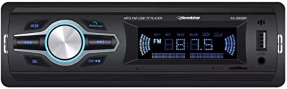 Auto Radio Mp3 Roadstar Cont. Remoto Bluetooh Rca Fm Sd Usb