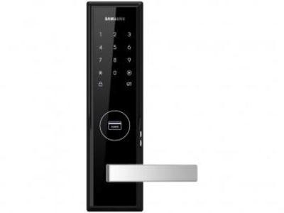 Fechadura Digital de Porta Samsung - SHS-H505 com Cartão RFID com Senha - Magazine Ofertaesperta