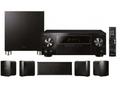Home Theater Pioneer Blu-ray 4K 3D - 5.1 Canais 4 HDMI Bluetooth 1 USB HTP-074