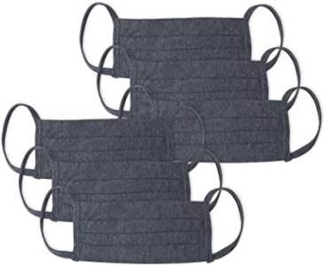 Kit 6 peças Máscaras de Proteção em Algodão, Mash