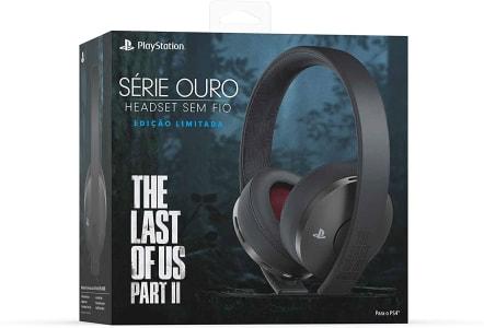 Headset sem Fio Série Ouro Edição Limitada The Last of Us Part II