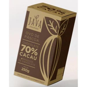 Ovo De Páscoa 70% Cacau 250g - Java