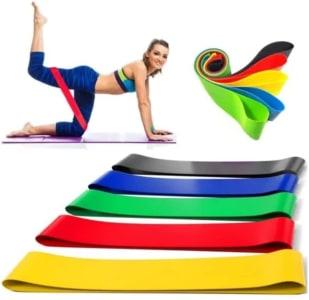 Confira ➤ Kit 5 Faixas Elasticas Mini Band Exercicios em Casa Extensor Academia Yoga Pilates Fitness Crossfit ❤️ Preço em Promoção ou Cupom Promocional de Desconto da Oferta Pode Expirar No Site Oficial ⭐ Comprar Barato é Aqui!