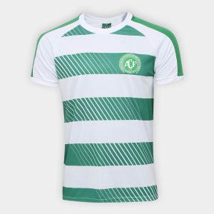 Camisa Chapecoense Champions S/N° Masculina - Branco e Verde