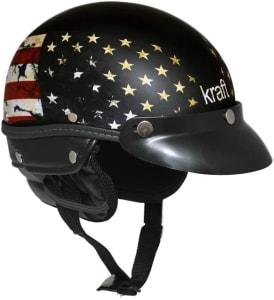Capacete Kraft Esporte USA - Preto / G