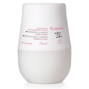 Desodorante Antitranspirante Roll-on Avelã e Cassis Tododia - 70ml