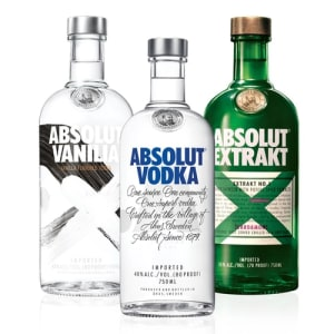 Kit Família Vodka Absolut