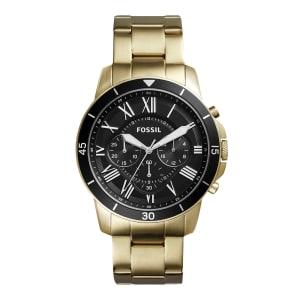 Relógio Fossil Masculino Dourado Analógico FS5267/4PN