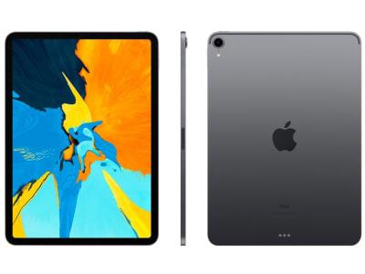 """iPad Pro 2018 256GB Cinza Espacial 11"""" Retina - Proc A12X Câm 12MP + Frontal 7MP iOS 12"""