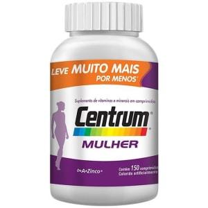 Centrum Mulher c/ 150 Cpr - PRODUTO COM VALIDADE 31/12/2020