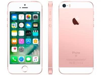 Oferta ➤ iPhone SE Apple 128GB Ouro Rosa 4G Tela 4 – Retina Câm. 12MP iOS 10 Proc. Chip A9 Touch ID – Magazine   . Veja essa promoção