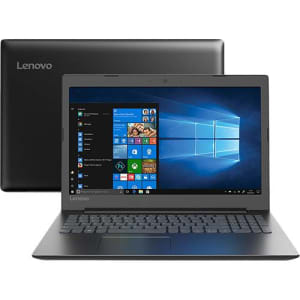 "Notebook Ideapad 330 Intel Celeron 4GB 1TB HD 15.6"" W10 Preto - Lenovo"