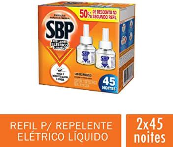 Refil para Repelente Elétrico Líquido SBP, 2 unidades