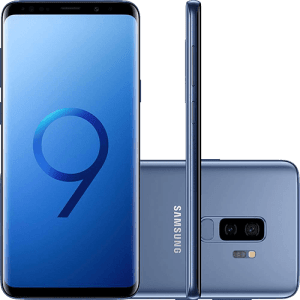 "Smartphone Samsung Galaxy S9+ Tela 6.2"" 128GB 4G - Azul"