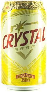 8 Unidades - Cerveja Crystal Pilsen Lata 350ml cada