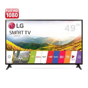 Oferta ➤ Smart TV LED 49 Full HD LG 49LJ5550 com Painel IPS, Wi-Fi, WebOS 3.5, Time Machine Ready, Magic Zoom, Quick Access, HDMI e USB   . Veja essa promoção