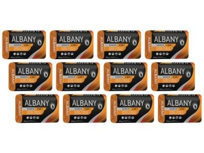 Sabonete em Barra Hipoalergênico Albany - Homen Laranja 4 em 1 85g 12 Unidades - Magazine Ofertaesperta