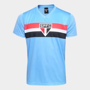 Camisa São Paulo Celeste Masculina - Azul
