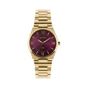 Relógio Euro Metal Trendy Feminino Dourado Análogico EU2035YQS/4N