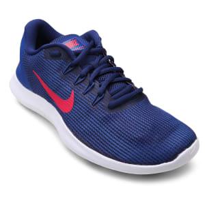 Tênis Nike Flex 2018 Rn Masculino - Azul e Vermelho