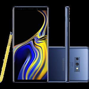 """Smartphone Samsung Galaxy Note 9 128GB Nano Chip Android Tela 6.4"""" Octa-Core 2.8GHz 4G Câmera Dupla 12MP 6GB RAM + Caneta S Pen com Controle Remoto -"""