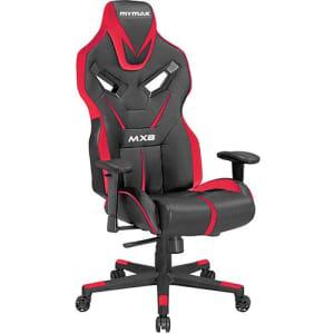 Oferta ➤ Cadeira Gamer Mymax Mx8 Giratória Preta/Vermelho   . Veja essa promoção