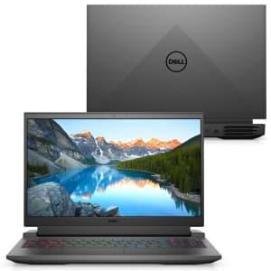 """[APP] - Notebook Gamer Dell Ryzen 5-5600H 16GB SSD 512GB Geforce RTX 3050 Tela 15.6"""" FHD W11 - G15-A0500-MM15P"""